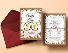 beautifull wedding invitation for javanese brides
