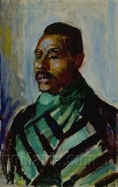 Sultan Abdul Karim - Edvard Munch, 1916 | Oil on canvas, 111 x 72.5 cm