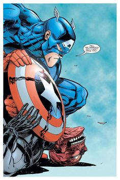 Captain America #448 by Ron Garney