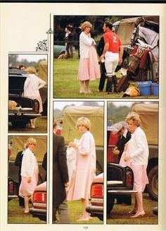 princess diana at smiths lawn polo 1980   ... Princesse Diana lors d'un match de polo à Smiths Lawn, Windsor. Suite