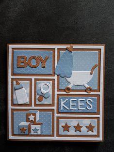 Marianne Design, Baby Scrapbook, Advent Calendar, Baby Boy, Scrapbooking, Album, Holiday Decor, Cards, Scrapbooks