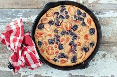 SUMMER TOMATO CHERRY CLAFOUTIS | NUTRITION STRIPPED