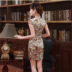 chinese clothing bamboo print dress            https://www.ichinesedress.com/