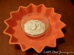 Dairy-free, cashew-nut yogurt. WOW!