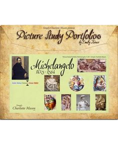 Picture Study Portfolios: Michelangelo — Simply Charlotte Mason