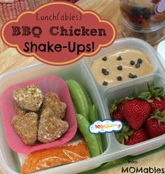 Biting The Hand That Feeds You: MOMables Monday: BBQ Chicken Shake-Ups Lunch(able)