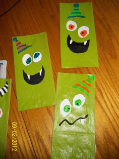 monster party Loot bags
