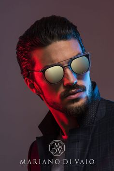 Vintage passion, contemporary mood, street style, Mariano Di Vaio portrayed his personality in the new Spring Summer collection of MDV Eyewear. Colour Gel Photography, Portrait Photography Men, Indoor Photography, Photography Poses For Men, Light Photography, Boy Photo Shoot, Men Photoshoot, Photo Poses, Jelsa
