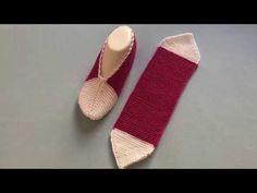 En Kolay Patik Yapımı / Sesli Anlatım / Çeyizlik Patik Modelleri - YouTube Crochet Shoes Pattern, Shoe Pattern, Crochet Patterns, Sweater Knitting Patterns, Baby Knitting, Braided Scarf, Crochet Table Runner, Knitted Slippers, Diy Pillows
