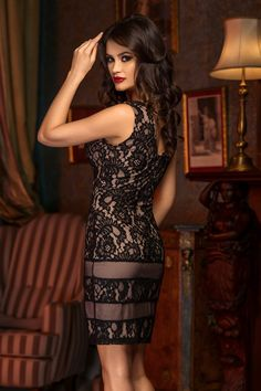 Style Me, Bodycon Dress, Classy, Elegant, Black, Dresses, Fashion, Vestidos, Moda
