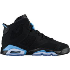 14b61e04c7d60 Jordan Retro 6 - Boys  Grade School - Casual Basketball Sneakers -  Basketball - Boys  Grade School - Casual - Jordan - Shoes -  Black University Blue