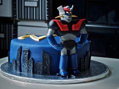 Mazinger Z Cake
