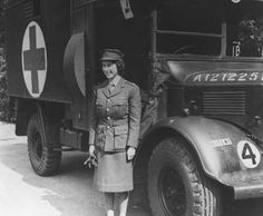 Second Subaltern Elizabeth Windsor was trained as a truck driver and in heavy vehicle maintenance. She later attained the rank of Second Commander. She is, incidentally, the last surviving head of state to have served in uniform in World War II.