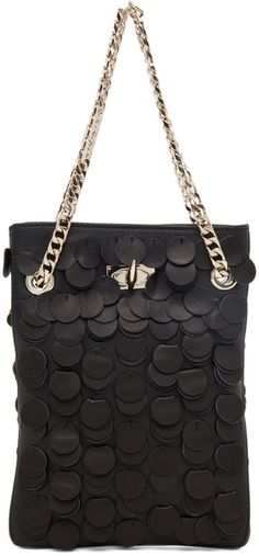 Givenchy Show Bag in Black in Black   By Elyse Walker.  Pack me Please?