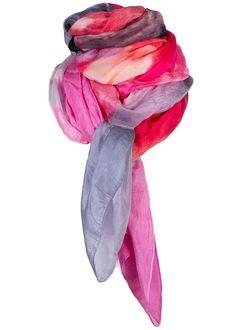 By Birdie Silketørklæde - Silk Art Scarf - Pink Happiness – Acorns