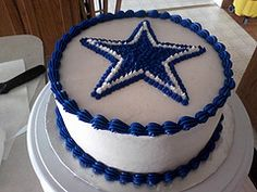 Dallas Cowboys Cake by barenas03, via Flickr