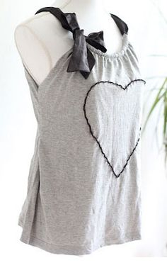 DIY Upcycled Clothing Ideas - Restyle an Old Shirt into a Funky New Top - DIY Repurposed Clothes