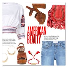 """American Beauty"" by christinacastro830 ❤ liked on Polyvore featuring TIBI, MANGO, Lucky Brand, BP. and Chloé"