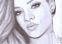 1000 Images About D R A W On Pinterest Rihanna Pencil