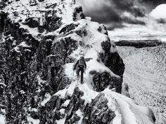 aonach eacagh [notched ridge], glencoe, scotland