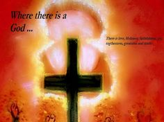 The Cross - cross, sky, painting, nature, god This one part of my painting with a saying of mine!!