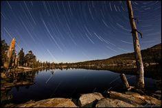 Granite, Water & Sky Middle Velma Lake Star Trails, Desolation Wilderness | Flickr - Photo Sharing!