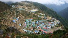 Namche Bazaar in Nepal - Gateway to Everest
