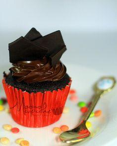 Chocolate Double Cupcake
