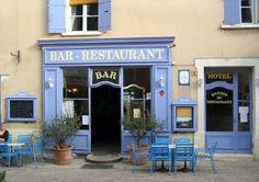 Bar cafe in Saint Saturnin, France