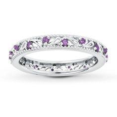 Pretty Amethyst Ring