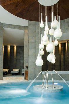 The spa at Playacar Palace