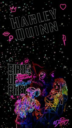 Birds of Prey Neon Margo Robbie, Margot Robbie Harley, Harley Quinn Drawing, Joker And Harley Quinn, Comics Girls, Dc Comics, Comic Book Heroes, Dc Heroes, Play Your Cards Right