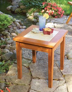 Tile-Topped Outdoor Table - Woodworking Projects - American Woodworker