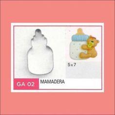 Categoría: Cortantes Metalicos Galletas - Producto: Cortante Metal Mamadera - Ga2 - Envase: Unidad - Presentación: X Unid. - Marca: Flogus