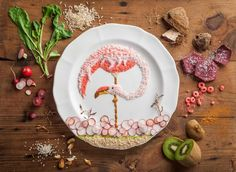 Food Illustrations by Anna Keville Joyce