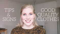 What is 'Good Quality' Clothing?