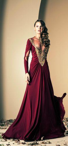 Fall-Winter Haute Couture Collection 2013-2014(11) ZIAD NAKAD_解思思 - 美丽鸟