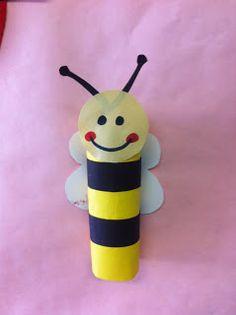 Bumble bee crafts on pinterest plastic jar crafts for Plastic bees for crafts