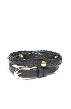 LaughPing- Braided Belt with Studs $6.99