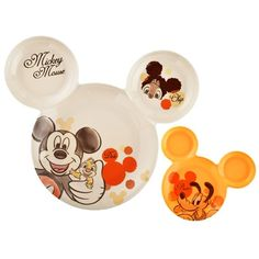 Mickey & Friends Plate Set