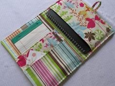 Medium Organizer- Enchanted Forest Butterfly- planner/organizer/calendar/journal for Smashbook, Kindle/tablet and all those accessories! Fabric Crafts, Sewing Crafts, Sewing Projects, Notebook Covers, Journal Covers, Smash Book, Calendar Journal, Book Journal, Calendar Organization