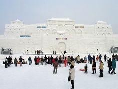 Impresionantes Esculturas De Invierno | Arte Sapporo, Helsinki, Hokkaido Winter, Asahikawa, World Festival, Snow Sculptures, Snow Art, Island Park, Winter Festival