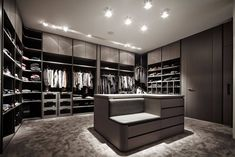 Walk-in closets - schmalenbach design