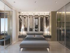 Афины - Обои в современном интерьере | PINWIN - конкурсы для архитекторов, дизайнеров, декораторов
