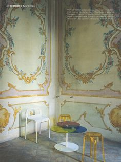 Italy's Villa Sorra, featured in World of Interiors.