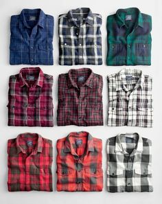 Tip of the Day - Flannel Shirt