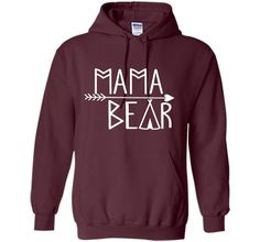 Mama Bear T-Shirts Ladies Present Mothers Day New Mommy Gift - mother's day