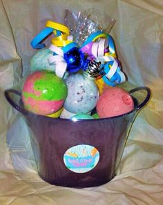 $14.99 Bucket 'O bombs at Kristine's Shower.  What a GREAT gift!