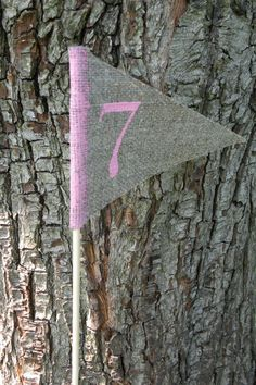 Table numbers  rustic table numbers pink by CloserToNature on Etsy, €24.00