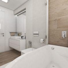Moderná kúpeľňa OSLO - Pohľad z vane